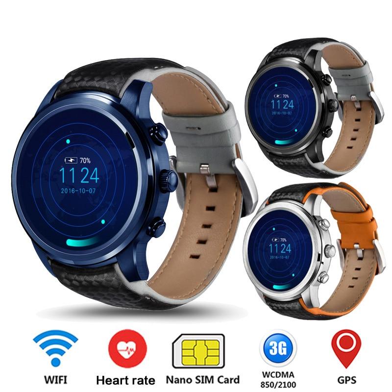 Finow X5 Lem5 GPS montre intelligente hommes femmes Sport Smartwatch Fitness Tracker 3G Bluetooth IP67 étanche Watchphone pour Android/iOS
