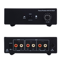 Newly Phono Turntable Preamp Signal Amplifier Prephonograph with Auxiliary Input Volume Control