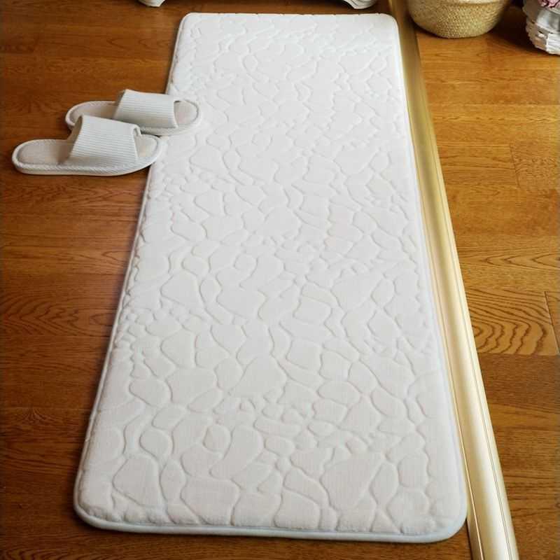 60*90cm nowy marka duży zagęścić dywanik łazienkowy podkładka podłogowa nowoczesna antypoślizgowa mata do kąpieli mycie mechaniczne Home Decor dywan darmowa wysyłka