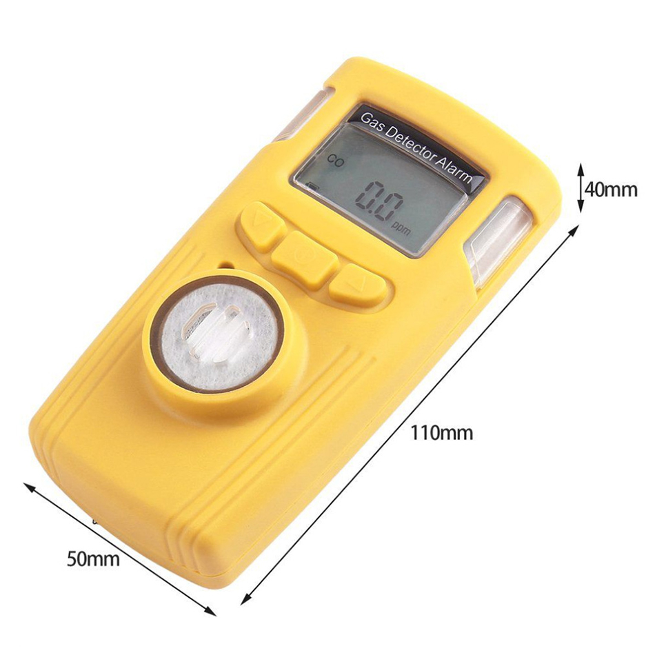 HT-530 LCD Gas Detector Alarm Carbon Monoxide Electrical CO Tester High Accuracy Small Power Consumption