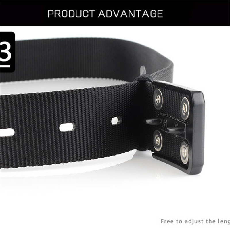 1PC Men Women Belts Casual Solid Color Canvas Automatic Buckle Waistband High Quality Military Army Belt Jeans Accessories
