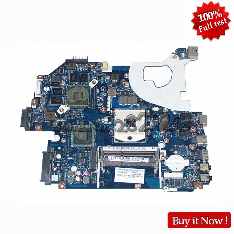NOKOTION MB.RCG02.006 MBRCG02006 Laptop motherboard For Acer aspire 5750 5750G HM65 DDR3 GT540M 1GB P5WE0 LA-6901P nokotion laptop motherboard for acer aspire v3 571 nv56r nby1111001 nb y1111 001 q5wvh la 7912p mother board intel ddr3