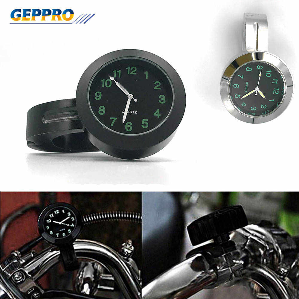 Motorcycle Universal Modification Accessories Motorcycle Clock Watches For Halley Motorcycle Car Handle Waterproof Clock AR001