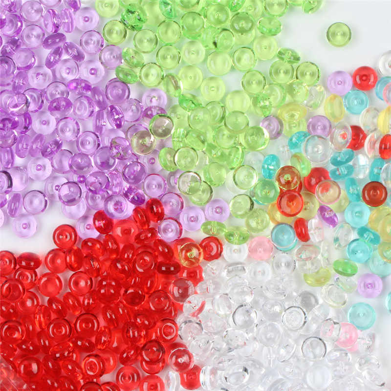Kids Colorful Slime Beads Balls Small Tiny Beads for Arts Party Craft Fish Tank Decor Children DIY Accessories Novelty Toys