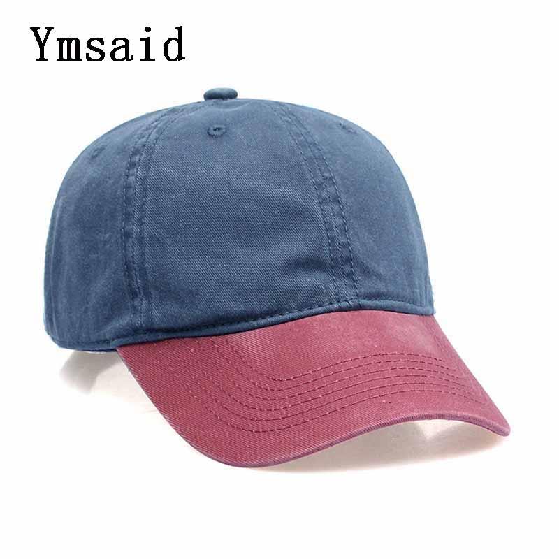 Mixed 8 Colors Washed Denim Snapback Caps Autumn Summer Men Women Baseball Cap Golf Sunblock Beisbol Casquette Hockey Hat