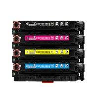 Compatible for HP Toner Cartridge 410A CF410A CF410 CF411A CF412A CF413A Color LaserJet Pro M452dn/M477fdw
