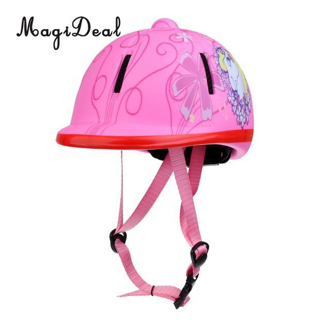 Children Adjustable Horse Riding Helmet Protective Gear For Equestrian Activity 5
