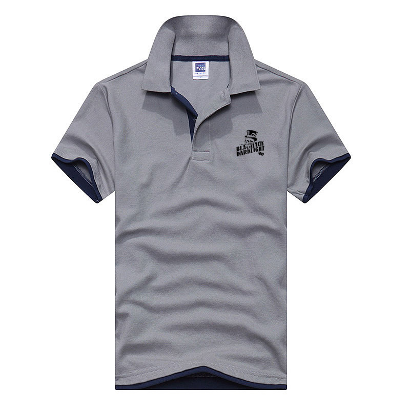 Size XS-3XL Brand New Men's   Polo   Shirt Men Cotton Short Sleeve shirt Brands jerseys Mens Shirts   polo   shirts Skull head Printing