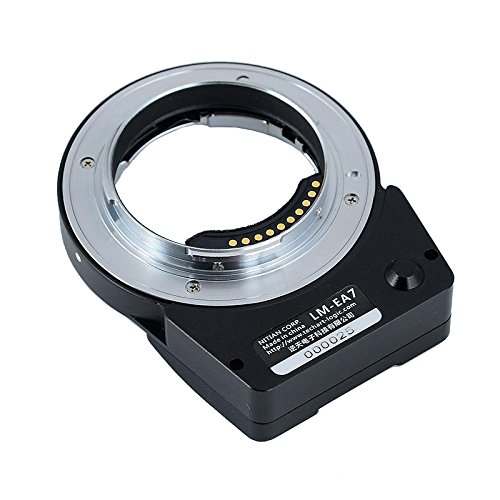 TECHART LM-EA7 II Auto Focus Lens Adapter for Leica M LM Lens to Sony NEX A7RII A6300 Cameras black sliver 25mm f 1 8 hd mc manual focus lens for sony e nex mount camera a7 a7r a7s a7rii a7sii a6300 a6000 nex 7