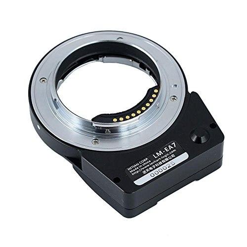 TECHART LM-EA7 II adaptateur d'objectif à mise au point automatique pour objectif Leica M LM vers les caméras Sony NEX A7RII A6300