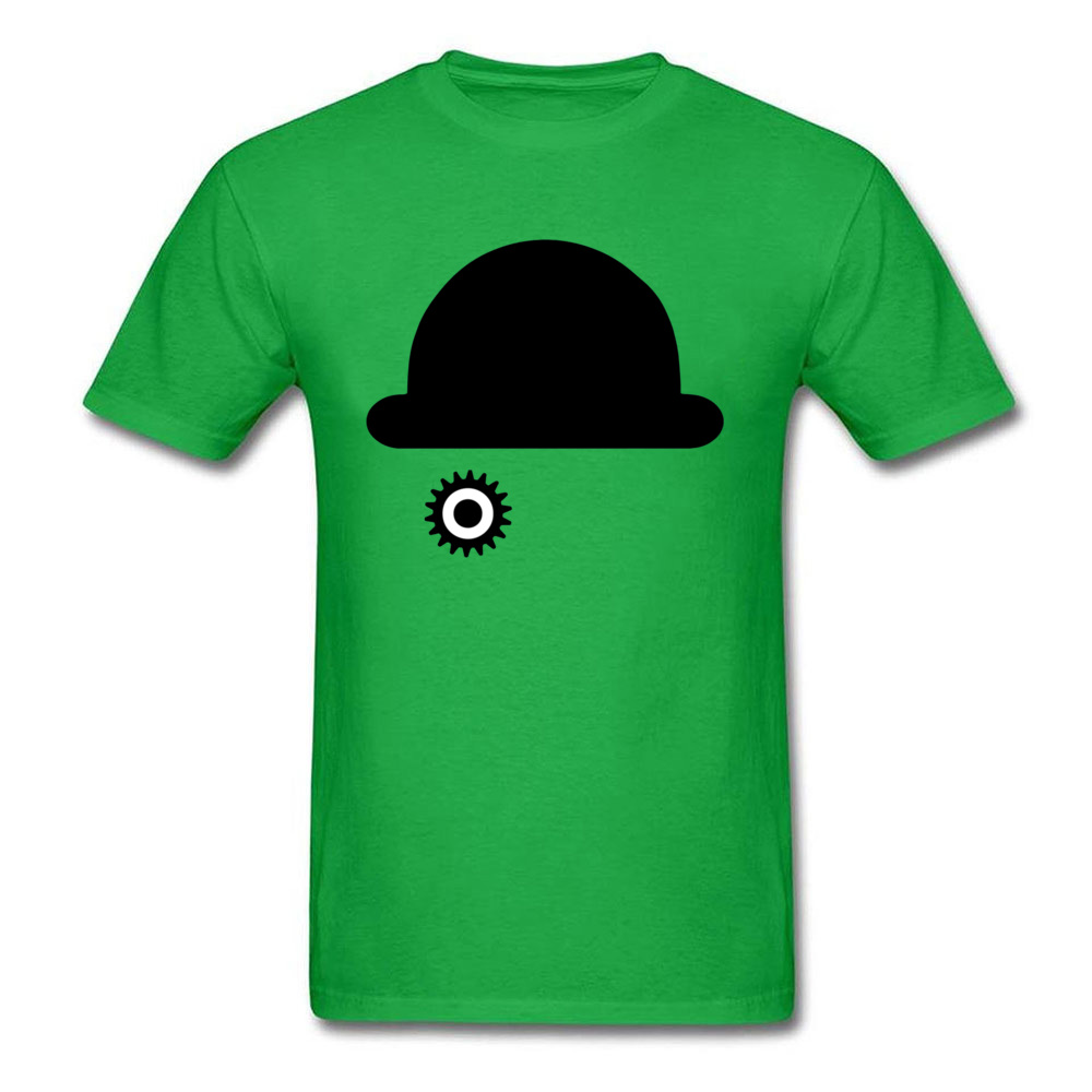 O-Neck Clockwork Orange 23515 100% Cotton Men T-Shirt Casual Short Sleeve Tops Tees 2018 New Camisa Tops & Tees Clockwork Orange 23515 green