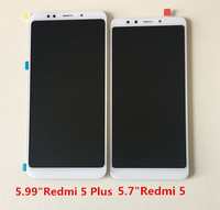 Original M Sen For 5 7 Xiaomi Redmi 5 LCD Screen Display Touch Digitizer White Black