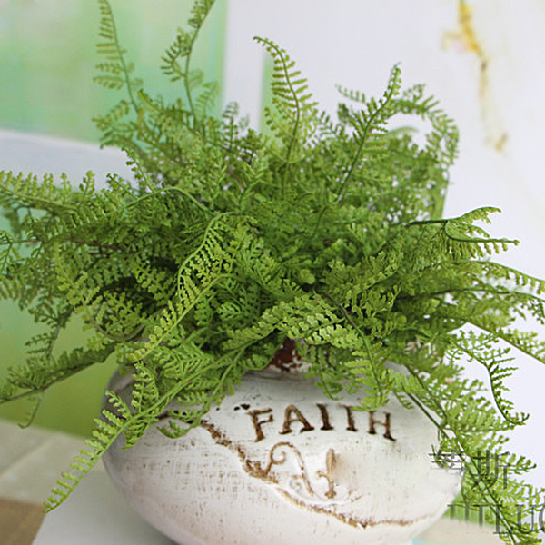 Beauty Fern Fake Plant Artificial Floral Leave Foliage ...