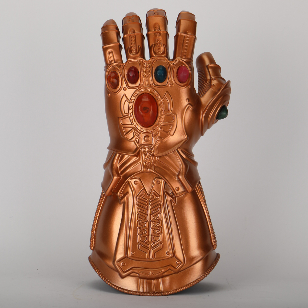 Avengers 4 Endgame Thanos Infinity Gauntlet Cosplay Arm Thanos Latex Gloves Arms Armor Marvel Superhero Weapon Party Props (3)