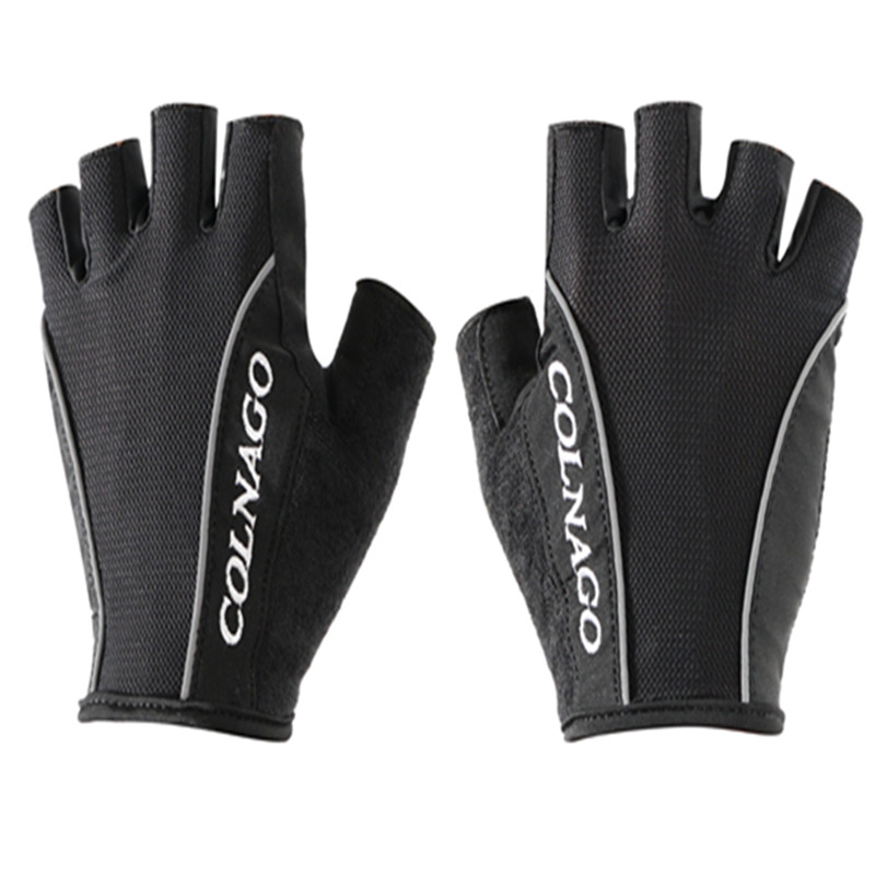 Colnago Cycling Anti-slip Anti-sweat Men Women Half Finger Gloves Breathable Anti-shock Sports Gloves cycling Gloves