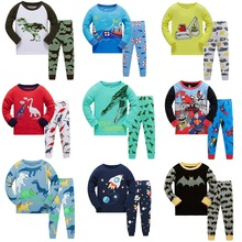 Autumn Children Clothes Kids Clothing Set Boys Pajamas Sets Animal Styling Nightwear Print Pajamas Girls Sleepwear Baby Pyjama hot sale kids boys girls clothing sleepwear pajama sets casual cotton print o neck pajamas suits lovely children home clothes