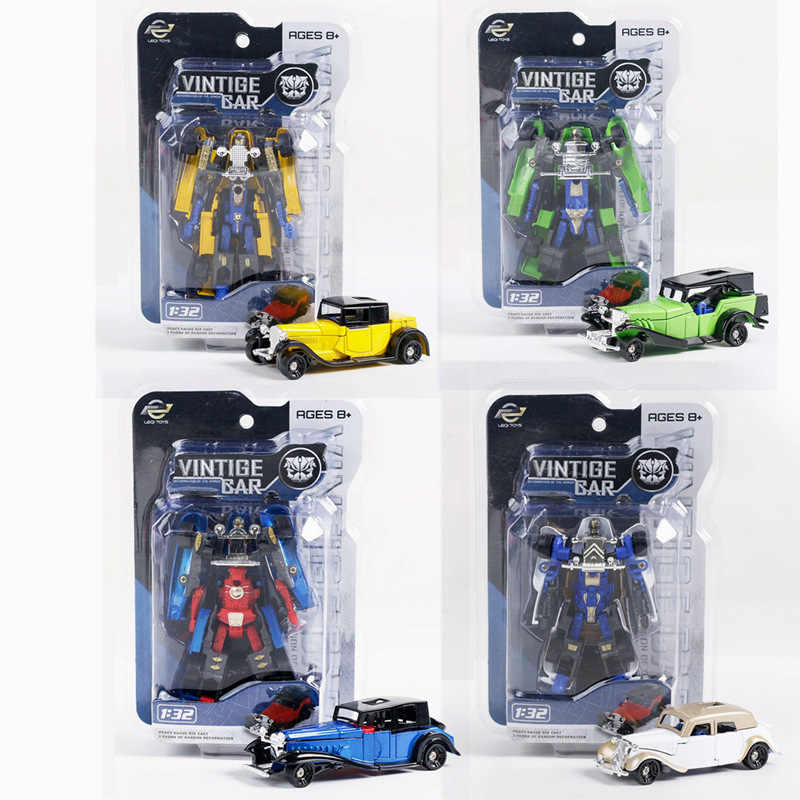 Hot sale 1:32 alloy car deformation classic car,Deformed alloy car model,Hot toy gift,Special wholesale toys,free shipping