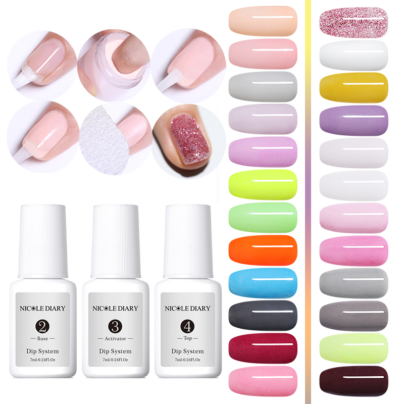 8Pcs/Set Dipping System Dip Nail Powder With Base Top Activator Brush Saver Liquid Natural Dry Without Lamp Glitter 5/4Pcs8Pcs/Set Dipping System Dip Nail Powder With Base Top Activator Brush Saver Liquid Natural Dry Without Lamp Glitter 5/4Pcs