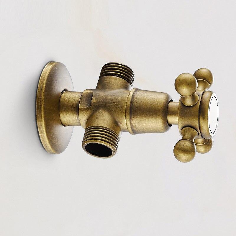Vanne d'angle, un-deux de stoppeur, stoppeur vanne Européenne antique séparateur d'eau mitigeur