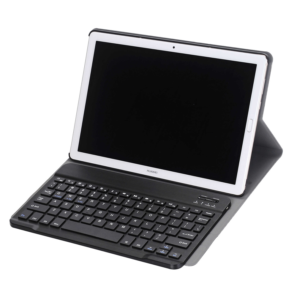 2 in 1 Removable Wireless Bluetooth Russian Keyboard+Ultra Thin PU Leather Case Cover For Huawei MediaPad M5 Pro 10.8 Tablet