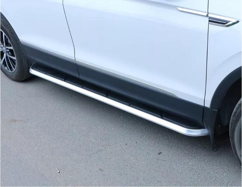 Car Aluminum alloy Running Board Side Step Nerf Bar Pedal For VW TIGUAN 2017 2018 2019 (4 STYLE)
