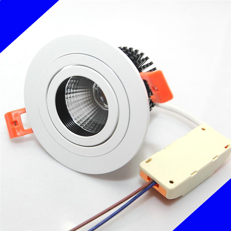 Теплый белый с регулируемой яркостью 10 Вт 15 Вт 20 Вт встраиваемые Подпушка свет 60 угол Энергосберегающая светодиодная Подпушка свет 110 В 240 В ...