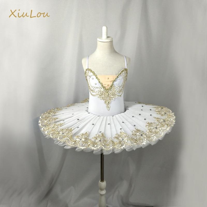 White professional ballet tutu kids child girls balletto party adulto ballet costumes woman ballerina dress girls