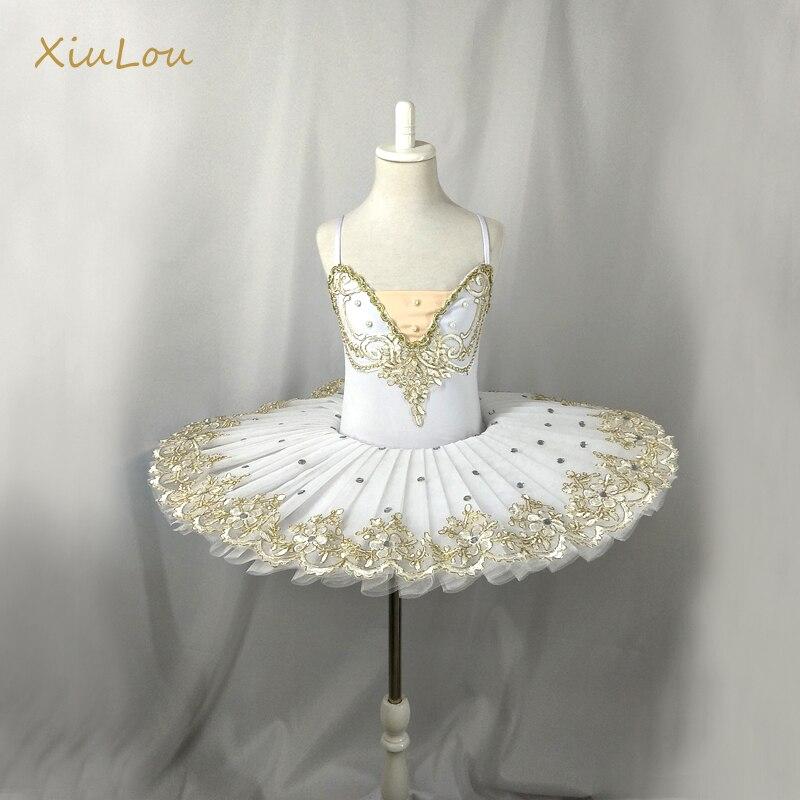 Ballet professionnel blanc tutu enfants enfant filles balletto fête adulto ballet costumes femme ballerine robe filles enfants