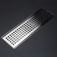 Stainless steel rectangle deodorization floor drain, bathroom, shower room, gutter