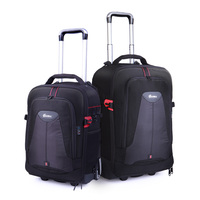 Travelling Bag Multi Function Trolley Case Camera Bag Trolley Digital SLR Backpack Large Capacity Boarding Box