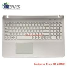 NEW Original Laptop Palmrest Touchpad Cover For Sony SVF15 FIT15 SVF151 SVF152 SVF153 SVF1541 SVF15E White Keyboard with Frame
