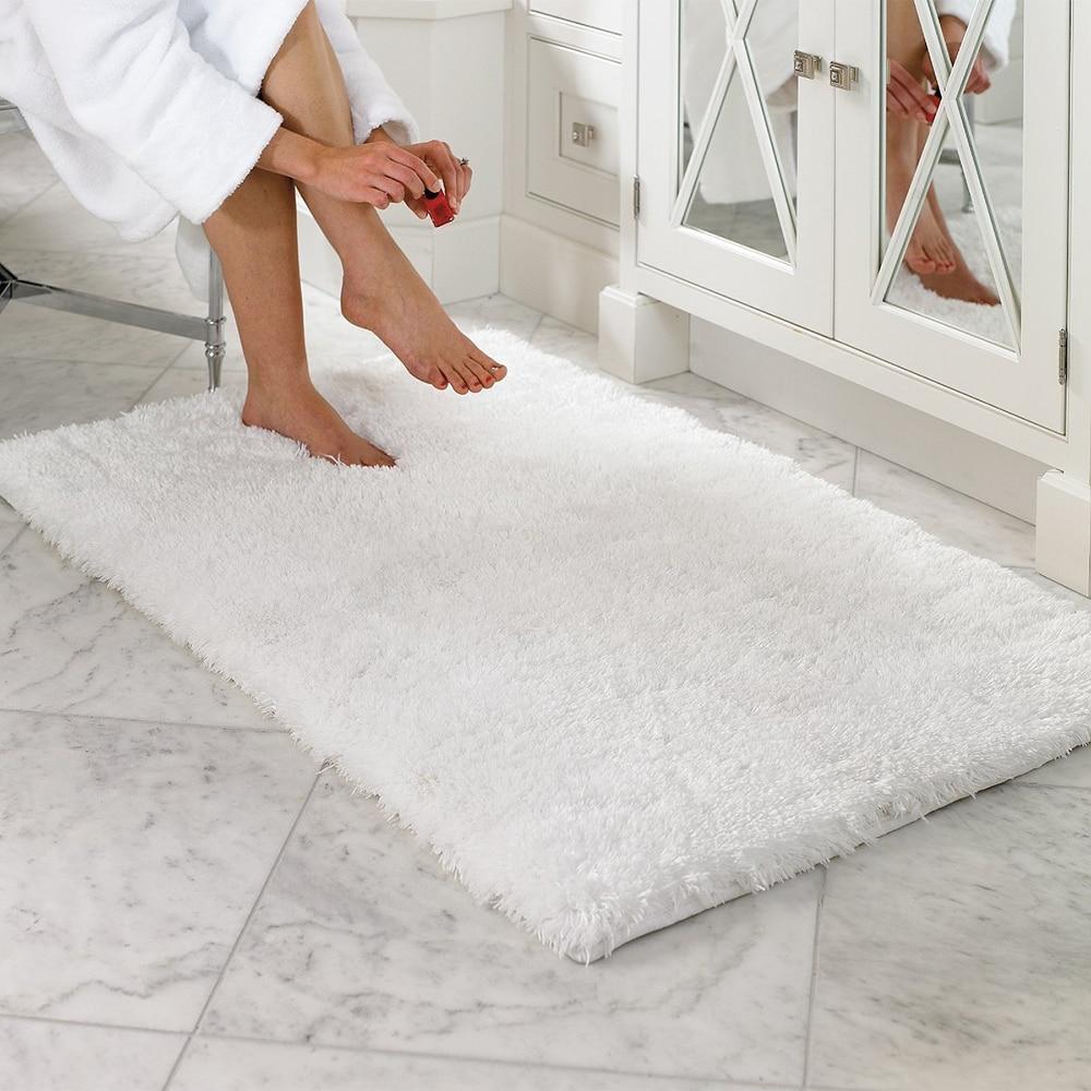 Beige 2 Piece Memory Foam Bath Mat Super Soft 2 pc Non Skid