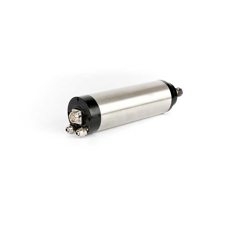 220 V 0.8KW moteur de broche refroidi à l'eau ER11 800 W 65mm CNC broche de refroidissement par eau gravure broche de fraisage avec 4 roulements.
