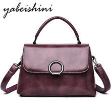 2019 lady handbag First layer cowhide Messenger bag Genuine Leather shoulder bag Messenger bag Women's Crossbody bags Sac a Main 100%genuine leather handbags women crocodile handbag messenger shoulder bags first layer cowhide leather zipper party bag purple