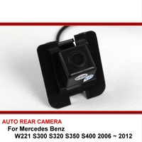 For Mercedes Benz S250 S300 S320 S350 S400 2006 2012 Car Reverse Backup HD CCD Rearview Parking Rear View Camera Night Vision