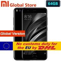 Global Version Xiaomi Mi6 Mi 6 6GB 64GB Mobile Phone Android 7.1 Snapdragon 835 Octa Core 5.15 Inch 1920x1080 Dual 12.0MP