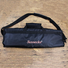 SUNNECKO fashion 8pcs Set Chef knife 8 Lots Chefs Soft Roll Bag without Knife Durable Shoulder Strap Handles Black Tools Bags