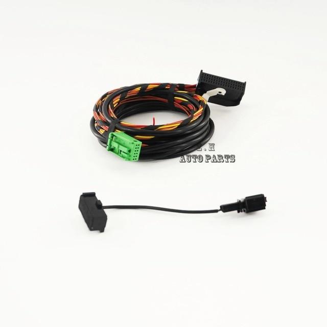 Bluetooth Wiring Harness Cable 9W2 9W7 Fit VW Golf Jetta Passat RCD510 RNS510 1K8 035 730_640x640 9w7 wiring harness oxygen sensor extension harness \u2022 wiring bluetooth wiring harness at fashall.co