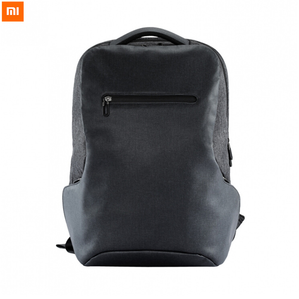 Xiaomi Multifunctional Business Travel 26L Backpack Simple Design Backpacks For 15.6 Inch Laptop Large Capacity original xiaomi 4k drone bag backpack multi functional business travel backpacks with 26l for 15 6 inch computer laptop mi drone