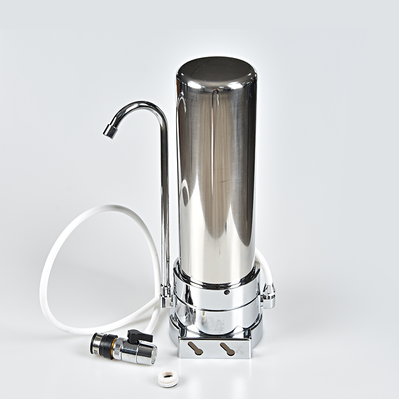 1 stage Stainless Steel Water Purifier With Electricity  CTO Block Carbon filter  CTO  UDF water filter