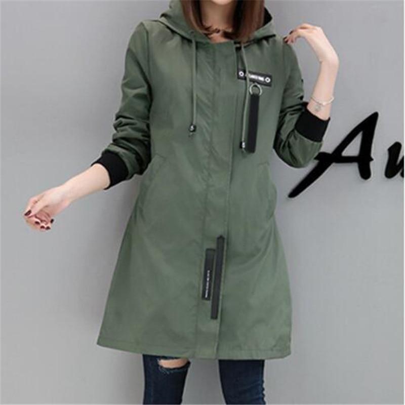 Women Coat Cardigan Outerwear Hoodies Baseball-Jacket Letter Spring Long-Sleeve Female