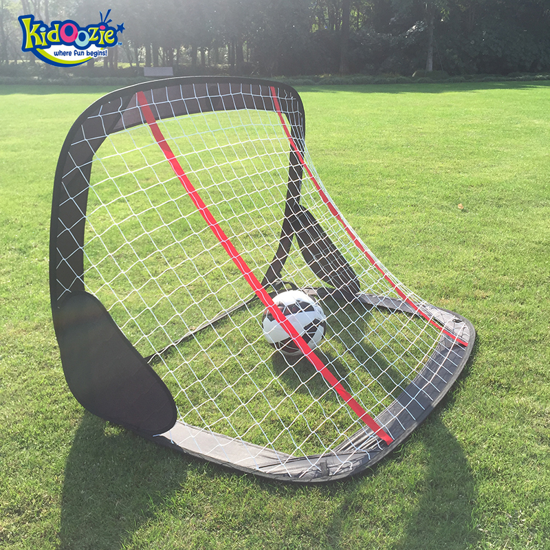 Kidoozy 1 unid plegable portátil para niños, juego de puerta de fútbol, marco de red de gol de fútbol, 120*80 cm 80, juguetes de fútbol para niños, regalo