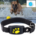 Водонепроницаемый gps-трекер для собак  кошек  ошейников  GPS Функция обратного вызова  USB зарядка  GPS трекеры для универсальных собак