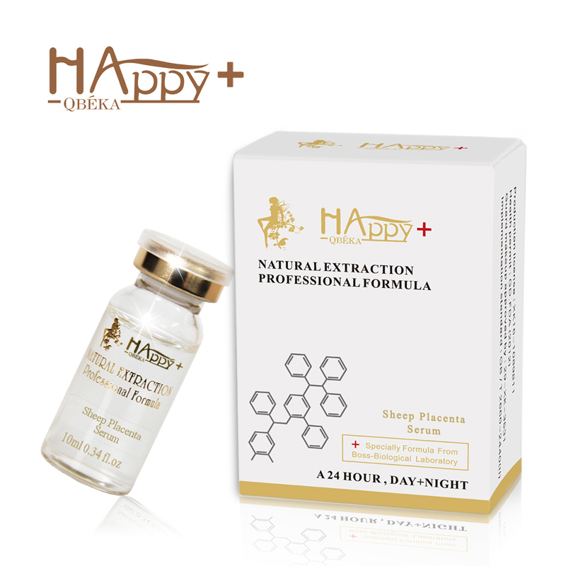 Sheep Placenta Serum for Dry Skin Anti-aging Anti-wrinkle Collagen Vitamin c Essence for Acne PSkin With Firming Benefits