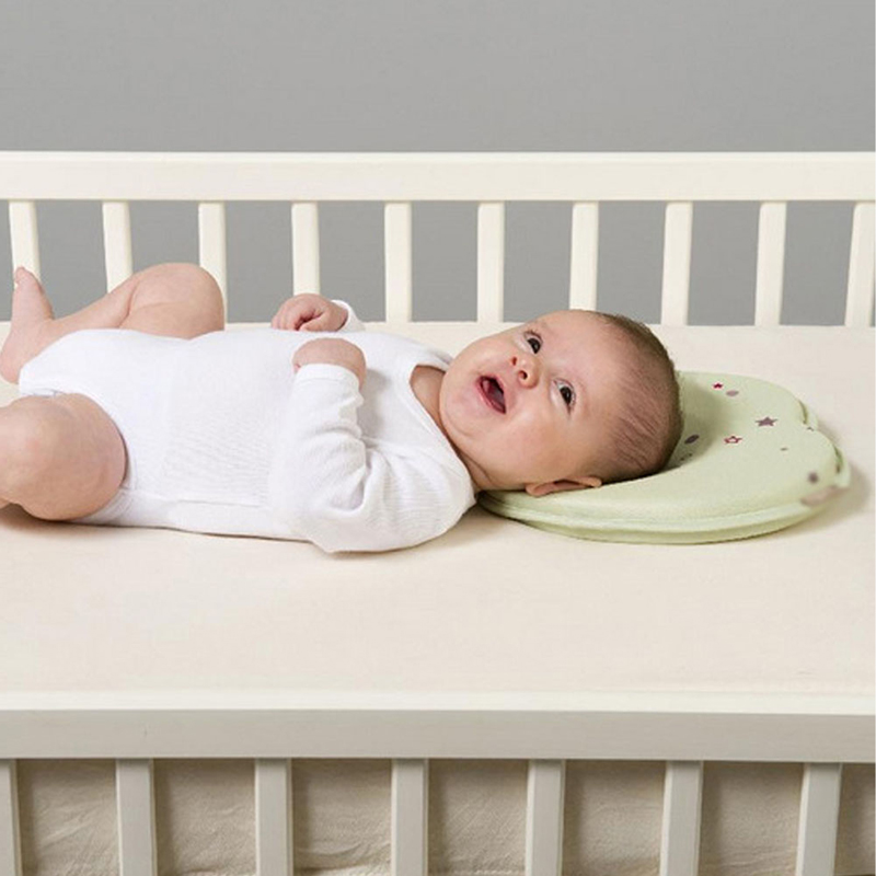 0 12m Newborn Baby Infant Head Support Flat Memory Foam