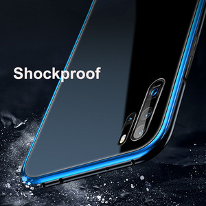 Image 4 - Leanonus מתכת פגוש מקרה עבור Huawei P30 P20 פרו Mate 20 פרו 9 שעתי מזג זכוכית כיסוי נגד לדפוק alumium מסגרת זכוכית טלפון מקרה