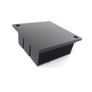 Image 2 - Disipador de calor de aluminio radiador para Chip electrónico LED RAM refrigerador 40*40*12,7mm de aluminio de alta calidad YL 0030