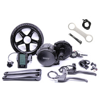 Free Shipping 48v 750w 8fun Bafang Motor C965 LCD BBS02B Latest Controller Crank Motor Eletric Bicycles