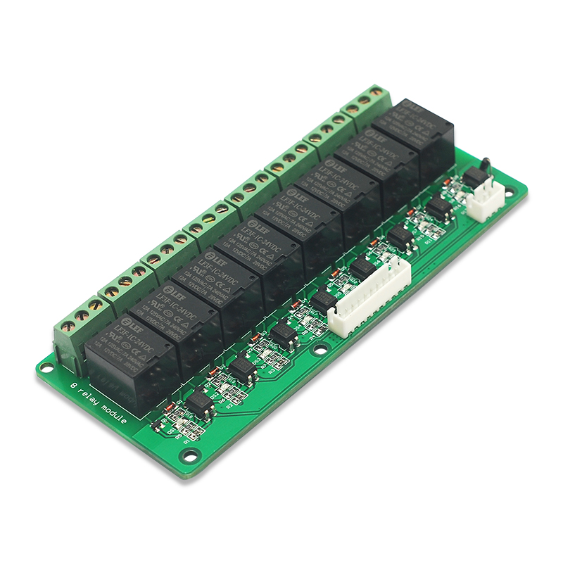 1PCS 8 Channel Relay Module 24V Low Level Board for Arduino PIC AVR MCU DSP NEW  12v 8 channel relay module board for pic avr mcu dsp arm electronic new original