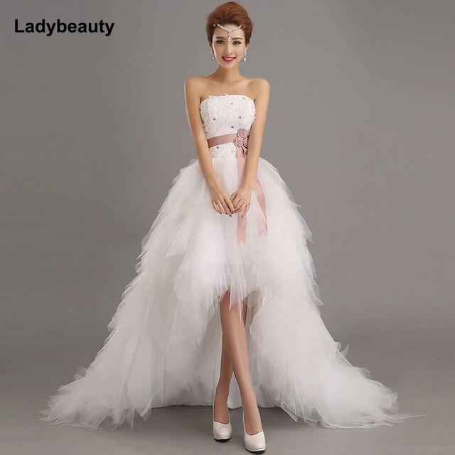 Ladybeauty 2017 precio bajo la novia Princesa Real vestido de novia ...
